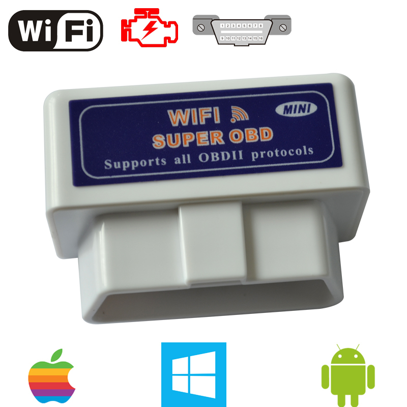 DIAGNOSIS MULTIMARCA AUTOMOVIL ELM327 WIFI MINI IPHONE, ANDROID Y PC